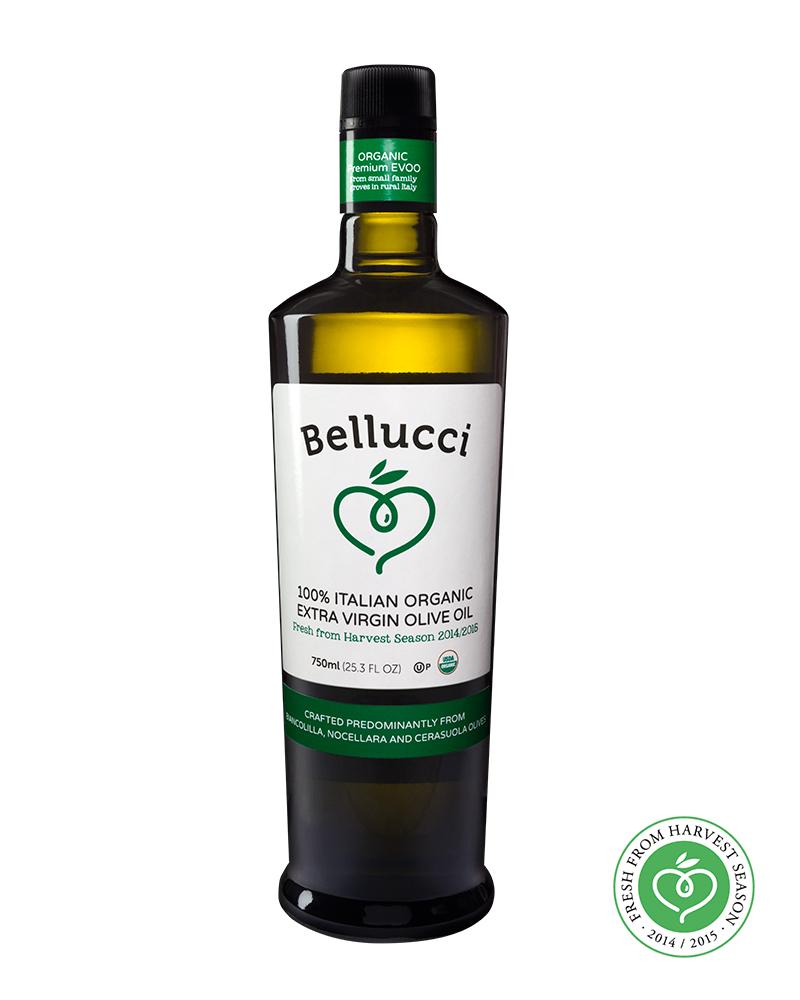 Organic 100% Italian EVOO 750 ml